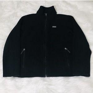 Patagonia Black Synchilla Zip Up Jacket!